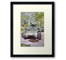 M4A3 Sherman Tank Framed Print