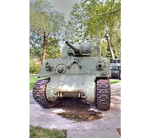 M4A3 Sherman Tank Photographic Print