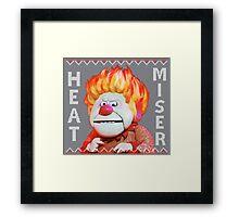 Heat Miser Ugly Sweater Framed Print
