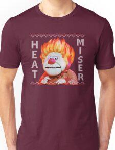 Heat Miser Ugly Sweater Unisex T-Shirt