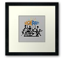The Rolling Block Party Brotherhood Framed Print