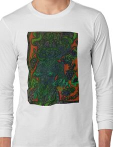 Ganja Guardians #12: BlackBerry {Trippy} Long Sleeve T-Shirt