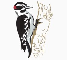 Woodpecker on Tree Kids Clothes