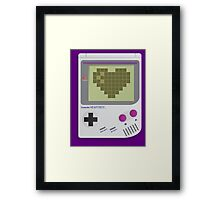 Heartboy Framed Print