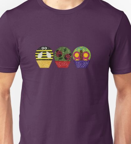 Insect Cupcakes Unisex T-Shirt