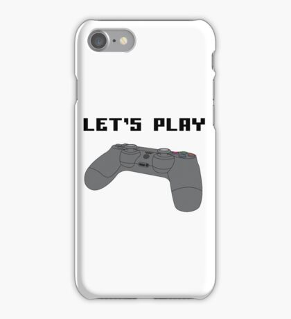 """""""Let's Play"""" iPhone Case/Skin"""