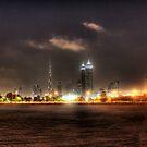 Dubai Downtown by Omar Dakhane