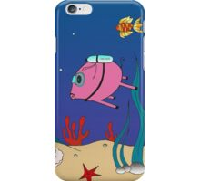 Diver PiGgy! iPhone Case/Skin