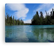 Tranquil River Canvas Print