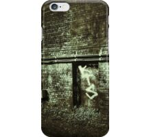 train station wall iPhone Case/Skin
