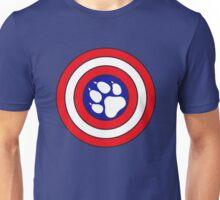 Captain Pupmerica Unisex T-Shirt