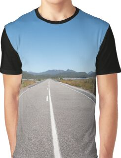 The road to Queenstown Graphic T-Shirt