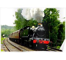 The Steam Train Locomotive Poster