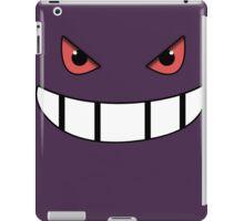Pokemon - Gengar Face Purple iPad Case/Skin