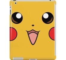 Pokemon - Pikachu Face Yellow iPad Case/Skin