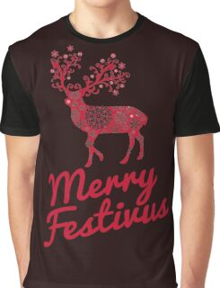 Seinfeld Merry Festivus Christmas T-Shirt Graphic T-Shirt