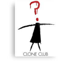 Clone Club Stick Figure Metal Print