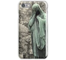 Lost in grief iPhone Case/Skin
