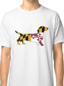 Maryland Weiner Dog Classic T-Shirt