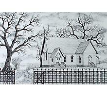 Oak Ridge Church Photographic Print