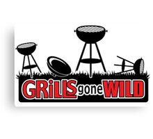 Grills Gone Wild - Parody Canvas Print