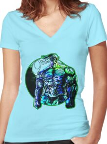 Orcs Women's Fitted V-Neck T-Shirt