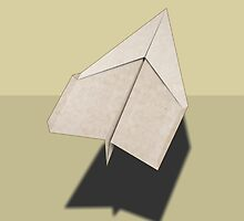 Paper Airplane 44 by YoPedro