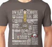 The Wise Words of Dwight Schrute (Dark Tee) Unisex T-Shirt