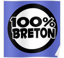 breton bretagne citation humour Poster