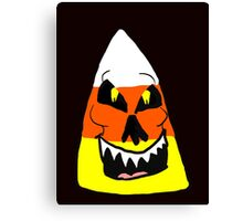 Candy Corn Creature  Canvas Print