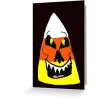 Candy Corn Creature  Greeting Card