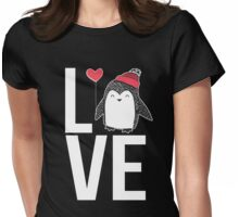 Love Penguin Womens Fitted T-Shirt