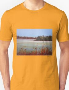 Winter in Island Lake Park  T-Shirt