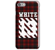 Off-White (Red Flannel) iPhone Case/Skin