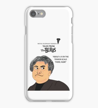 Rube from The Burbs iPhone Case/Skin