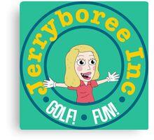Jerryboree ver.logo Canvas Print