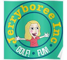 Jerryboree ver.logo Poster