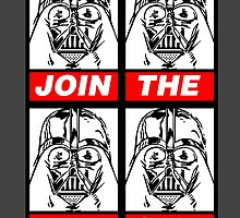 STAR WARS - JOIN THE DARK SIDE (WHITE) by WiseOut