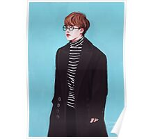 seokjin + airport fashion Poster