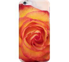 Orange beauty iPhone Case/Skin