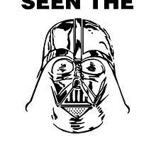 STAR WARS - HAVE YOU SEEN THE DARK SIDE? (BLACK) by WiseOut