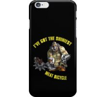 Meat Bicycle iPhone Case/Skin