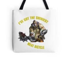 Meat Bicycle Tote Bag