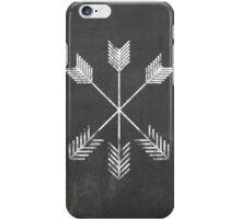 Chalkboard Arrows iPhone Case/Skin