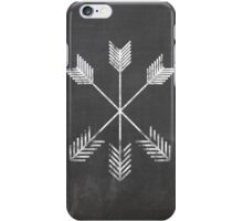 Chalkboard Arrows iPhone Case/Skin
