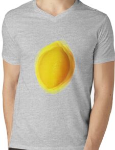 Vibrating Lemon Mens V-Neck T-Shirt