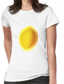 Vibrating Lemon Womens Fitted T-Shirt