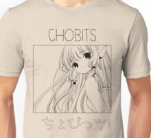 Chii - Chobits Line Drawing Unisex T-Shirt