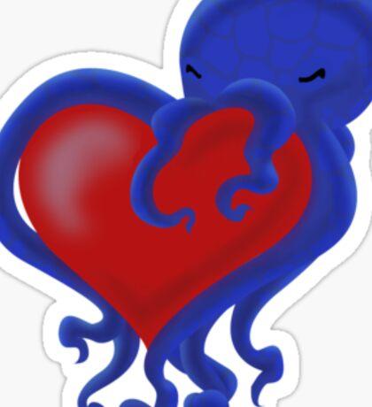 Octolove Sticker