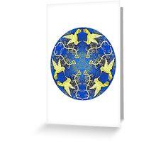 Spirit Animal Mandala Greeting Card